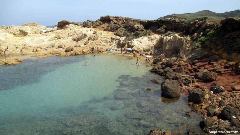 Menorca playas: Cala Pregonda