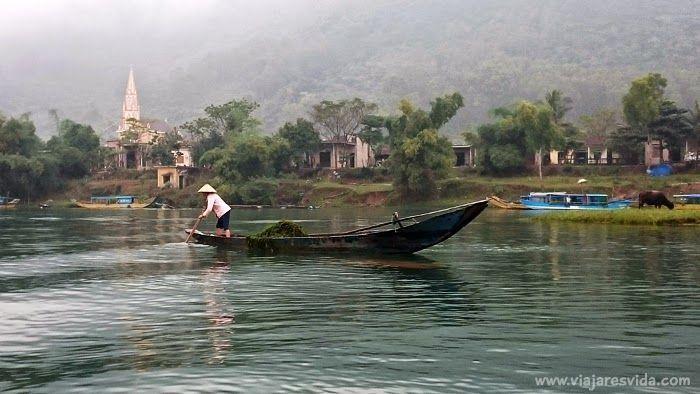 De camino a Phong Nha Cave por el Río