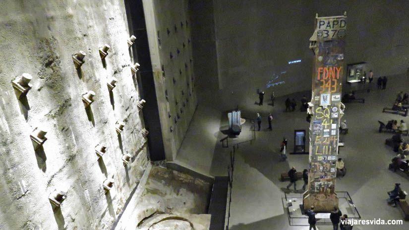 Memorial Museum 911 Nueva York. Qué ver en Nueva York en una semana