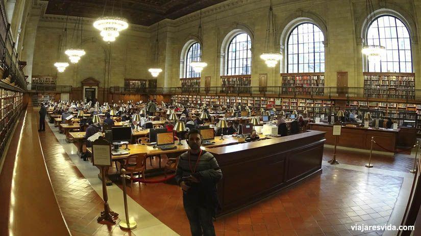 Biblioteca Pública de Nueva York. Lugares imprescindibles que visitar en New York