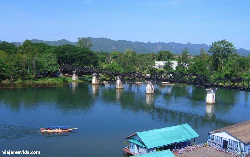 Kanchanaburi, Tailandia. Viajar es vida.