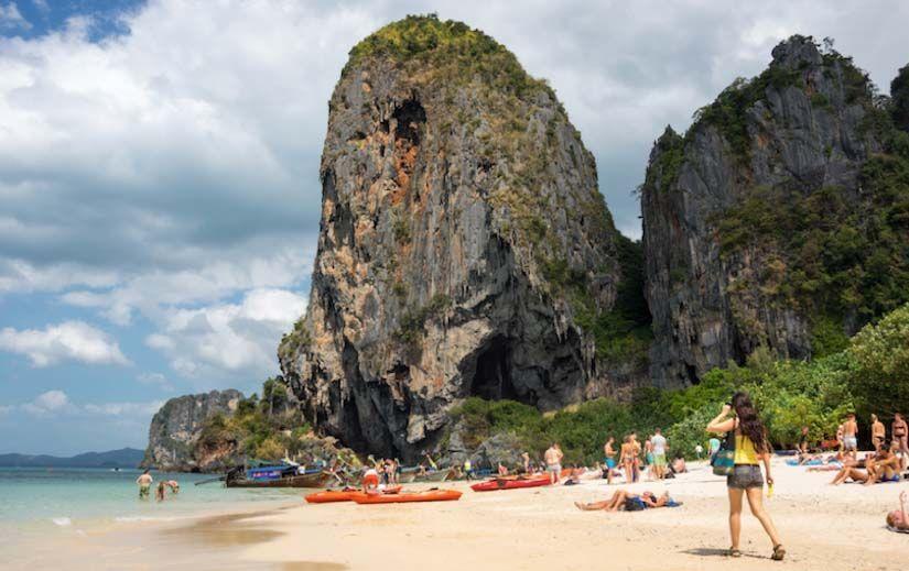Railay, Tailandia. Viajar es vida.