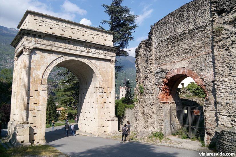 Arco de Octavio Augusto de Susa
