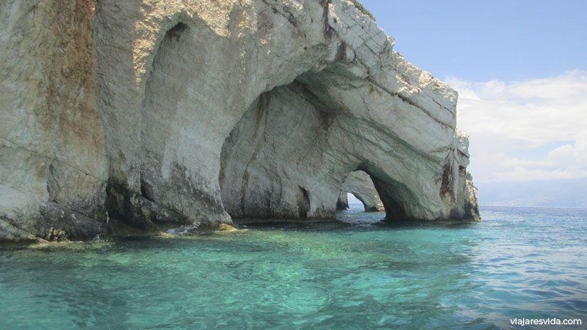Blue Caves en Zante