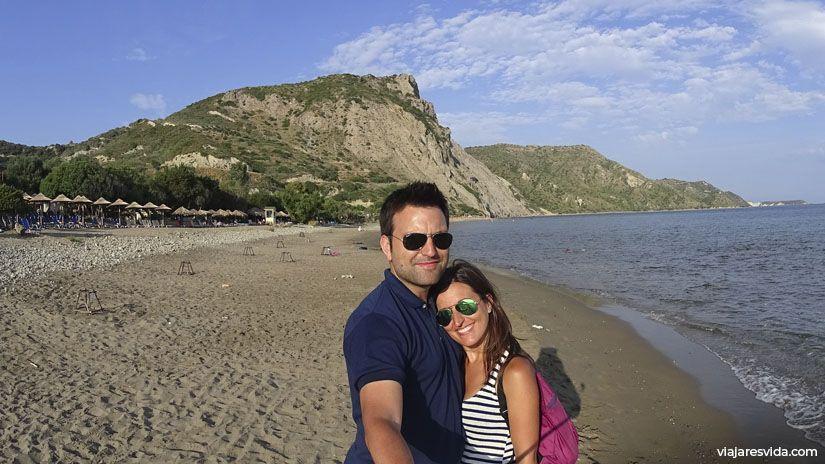 Playa Daphne en Zante