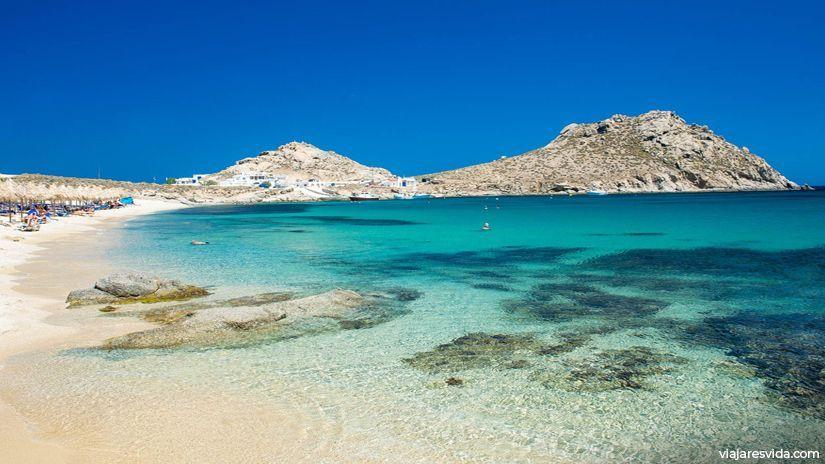 Playa Agia Anna Mykonos