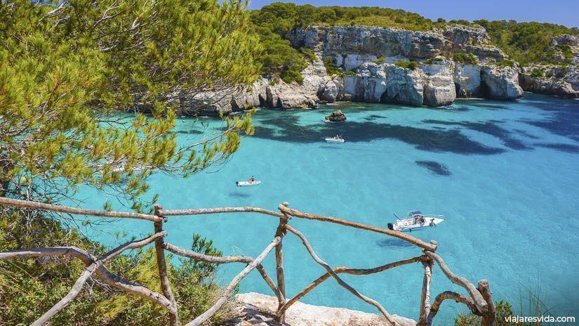 Mirador Cala Macarella en Menorca