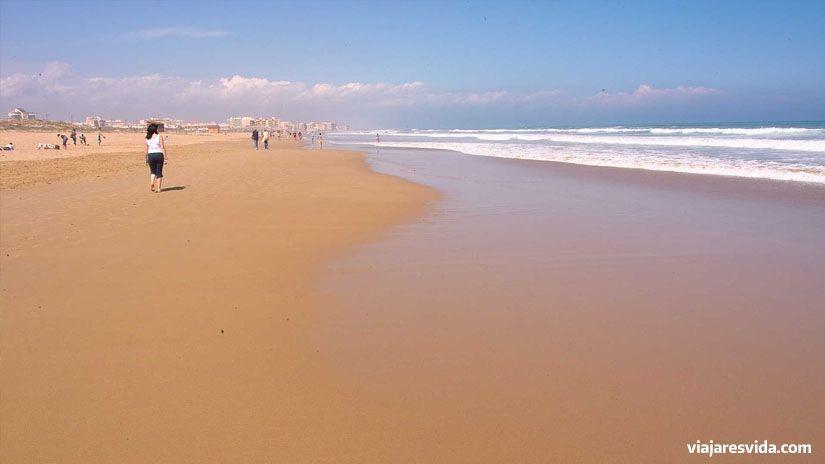 Playa de Torrelamata en Torrevieja