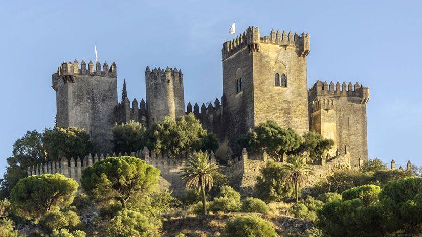 Castillo de Almodóvar del Río en Córdoba (España)