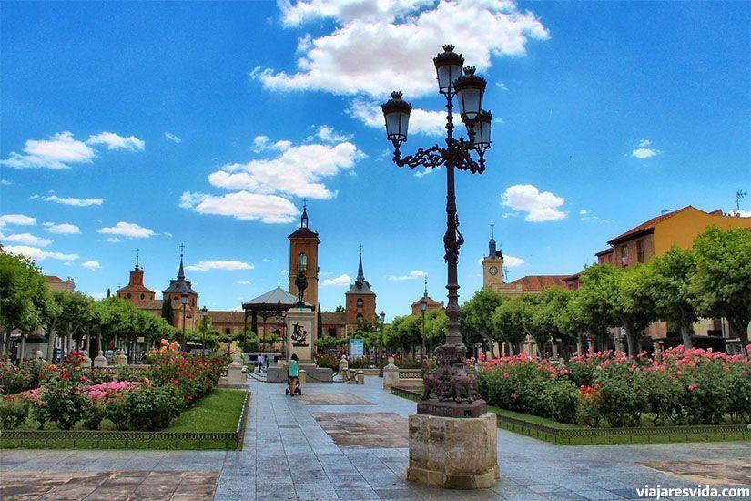 Plaza de Cervantes en Alcalá de Henares