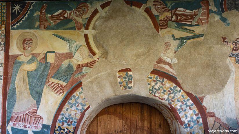 Pinturas románicas de Sant Joan de Boí