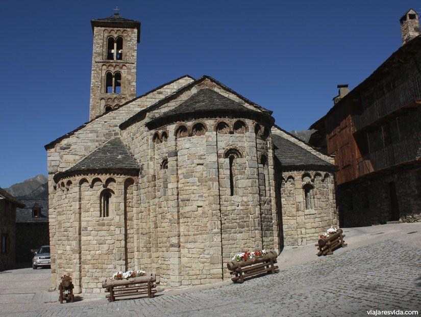 Santa María de Taüll también llamada Iglesia de Santa María de Tahull