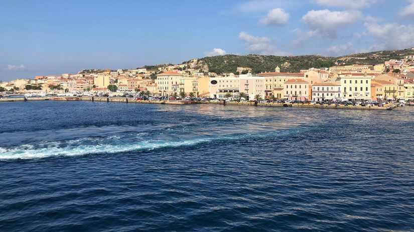 Maddalena. Norte de la isla de Cerdeña