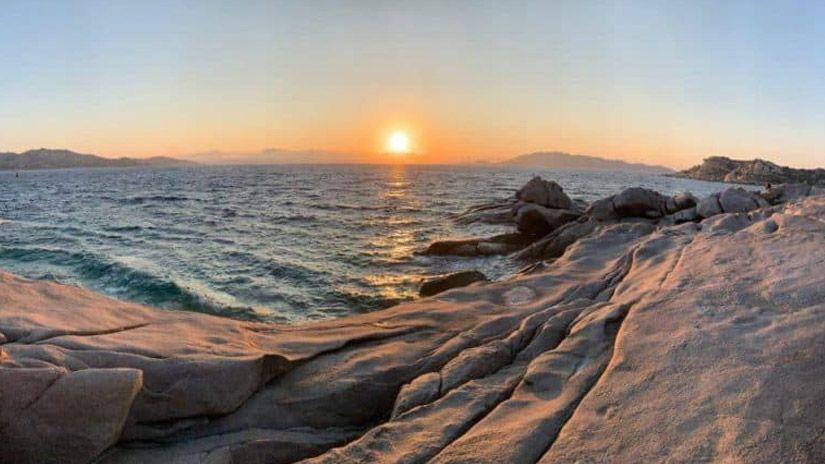 Puesta de sol en Punta Tegge