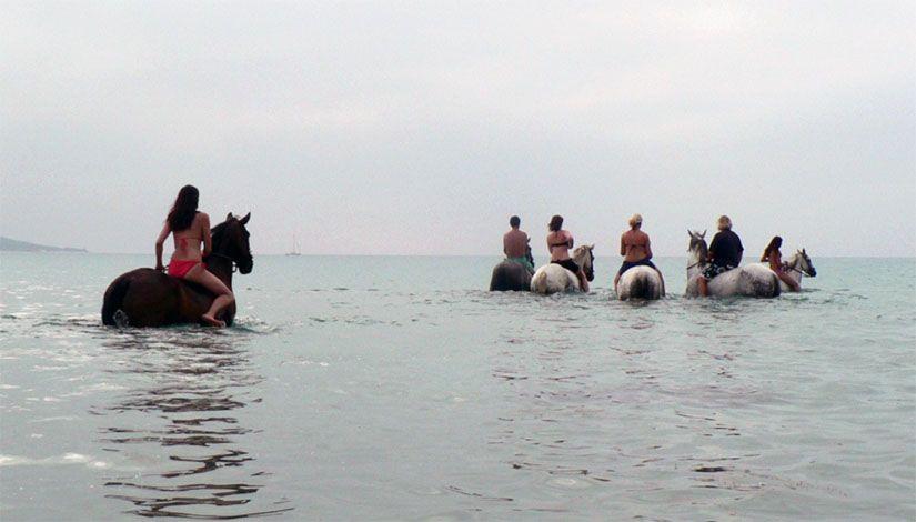 Paseo a caballo en Tarifa