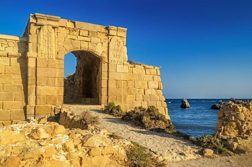 Puerta de San Gabriel en la isla de Tabarca