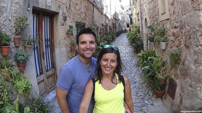 Dos turistas de Valldemossa...