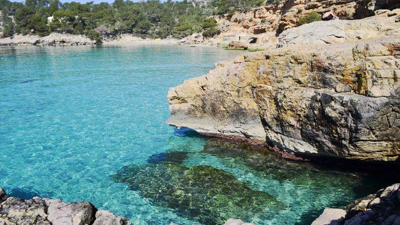 Cala Salada. Las mejores calas y playas que ver en Ibiza