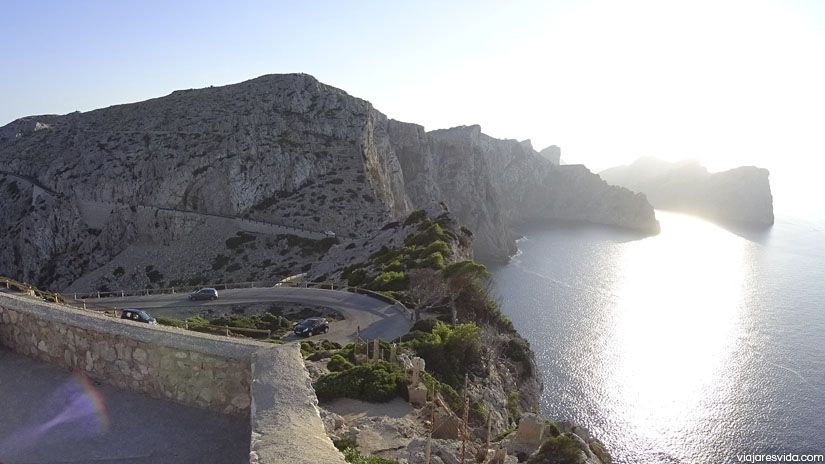 Puesta de sol en Cap Formentor