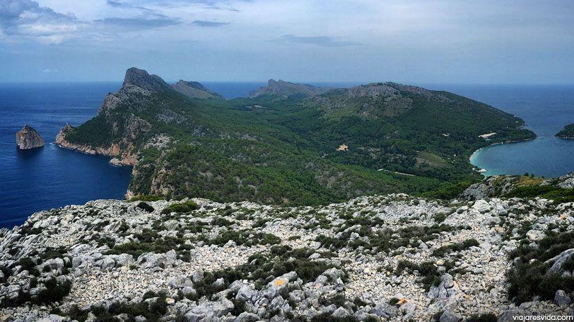 Vistas desde Talaia d'Albercutx