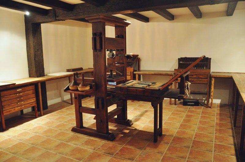 Imprenta donde se imprimió la primera edición de Don Quijote de La Mancha (1604)