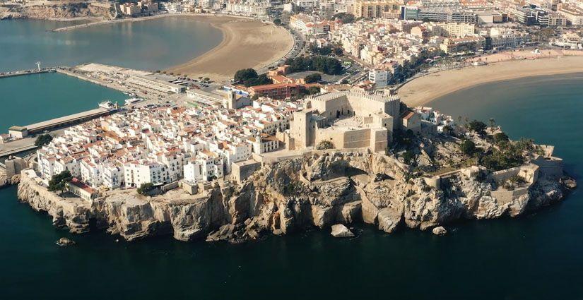 Vista aérea de Peñíscola
