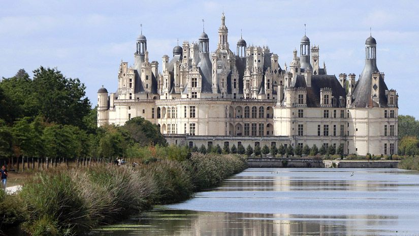 Castillo de Chambord en Francia