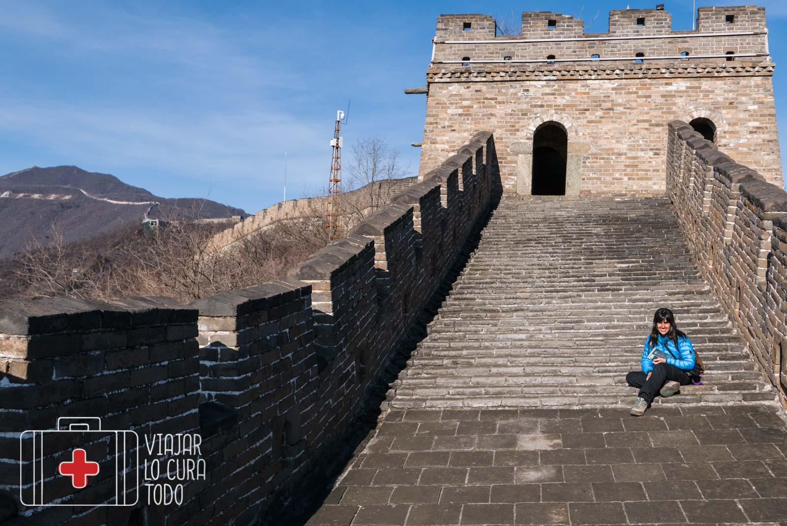 Solos en la Gran Muralla, todo un lujo