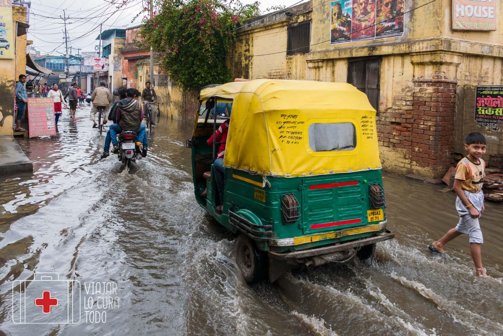 Tuk Tuk en la India