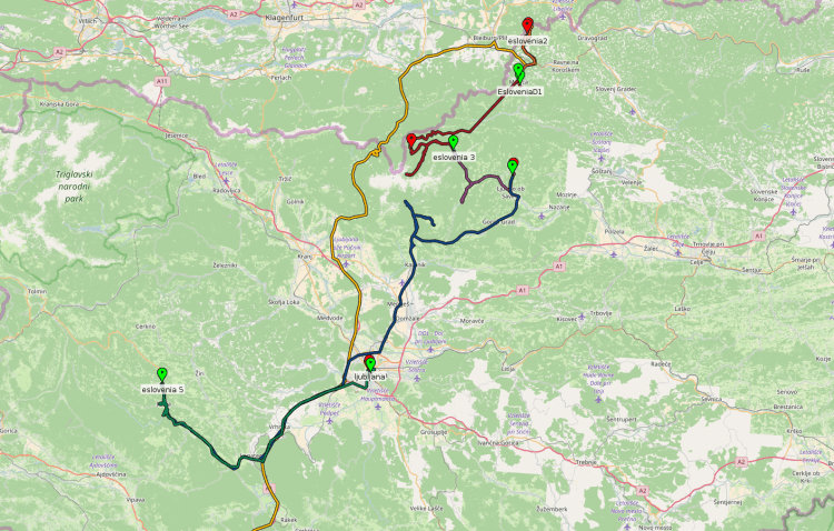 GPS Eslovenia