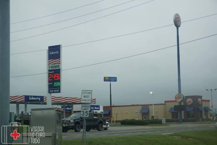 gas price USA