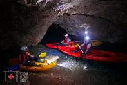 under ground kayak Slovenia