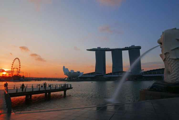 Marina Sands Bay Singapur