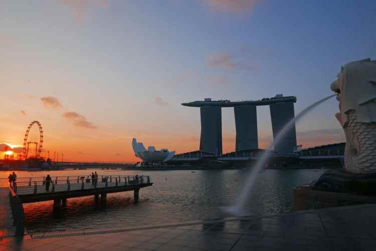 Marina Sands Bay Singapur