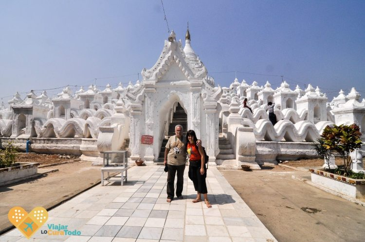 MYanmar white pagoda