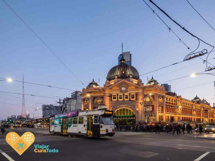 Flinders Station Melbourne