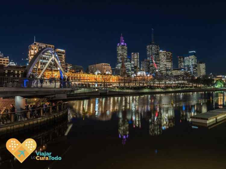 Skyline of Melbourne