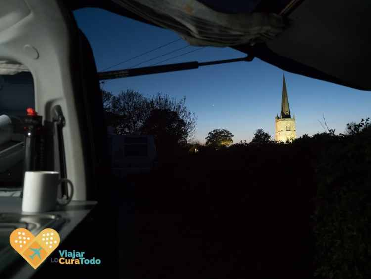 Cotswolds en furgoneta