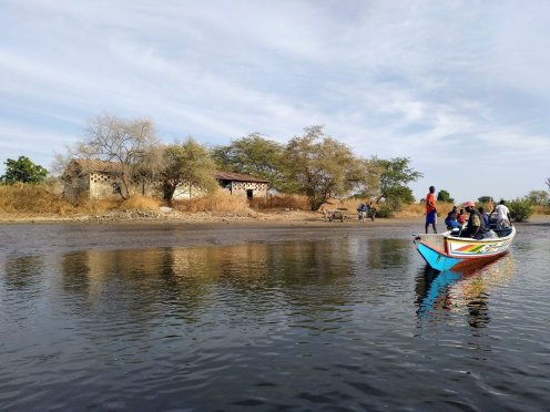 Senegal pirogue