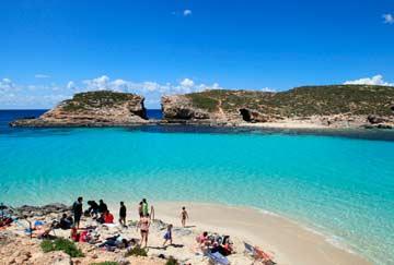 La mejor playa de Malta