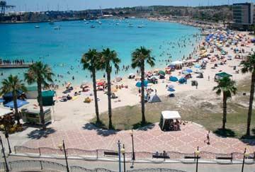 ¿Qué playas visitar en Malta?