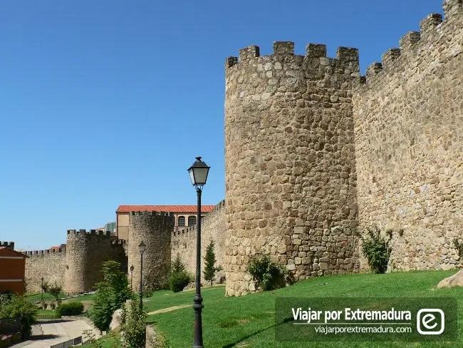 Murallas de Plasencia. Viajar por Extremadura