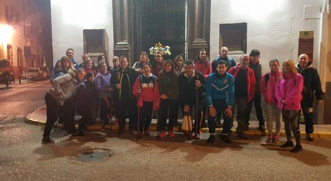 El CD Vadilleros llegó hasta el Santuario de la Virgen de la Cabeza