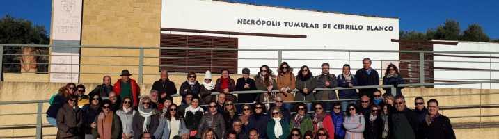 El Club Deportivo Vadilleros realizó una visita cultural a Porcuna