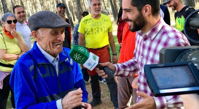 Andalucía Directo conoce a nuestro más ilustre vadillero…Don José