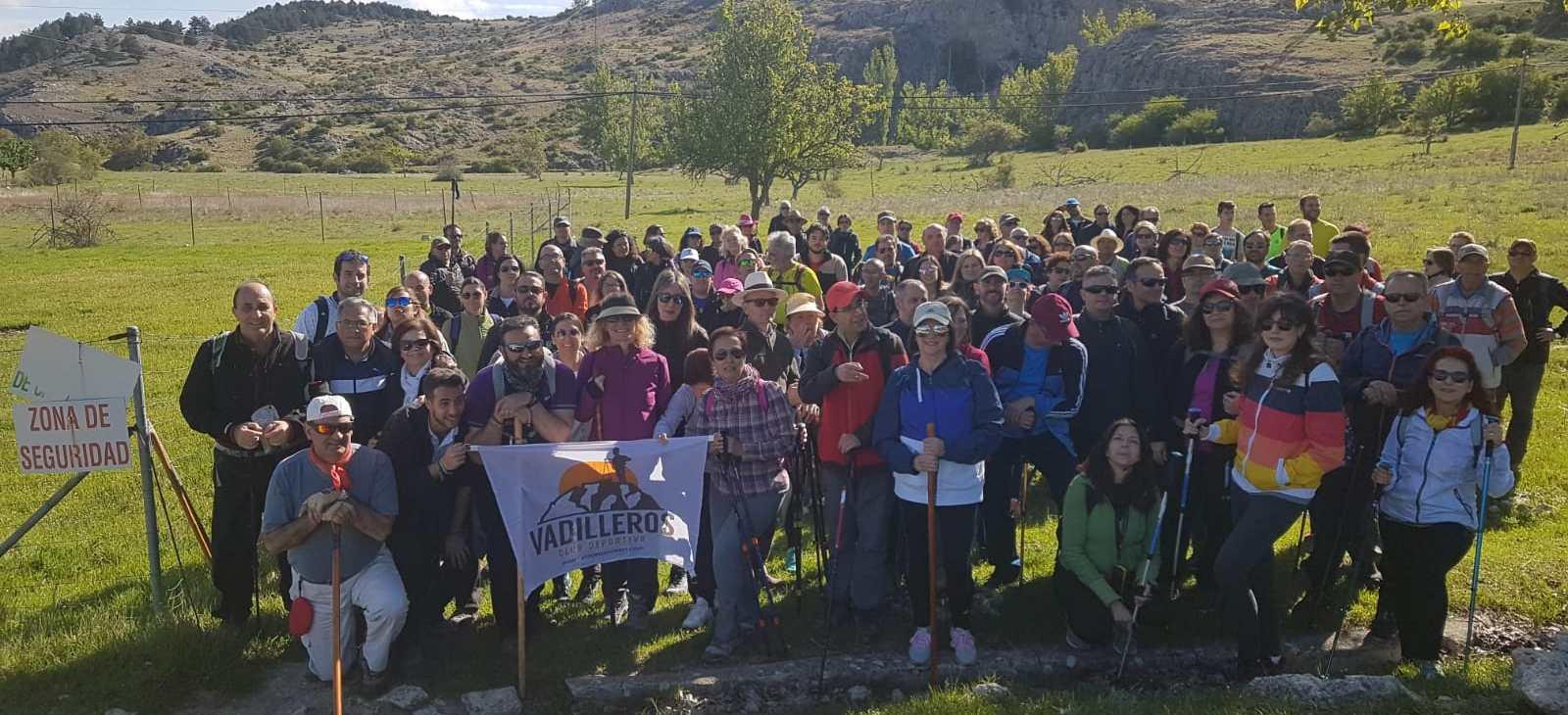 Ruta y convivencia en Pontones, en una nueva ruta del Club Deportivo Vadilleros