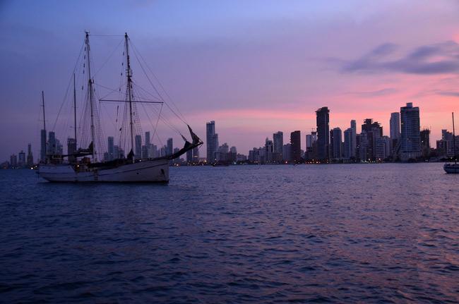 Colombia hasta Panamá