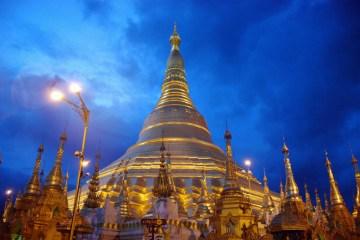 birmania yangon Shwedagon Paya