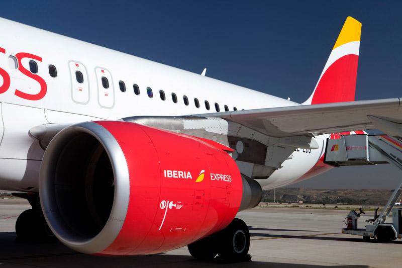 Avión-de-Iberia-Express
