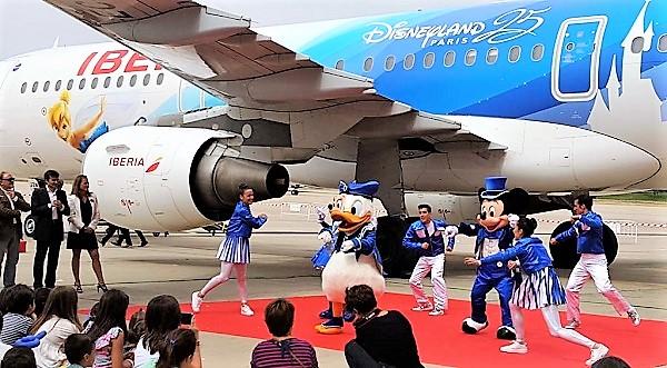 Iberia-Disney-baile